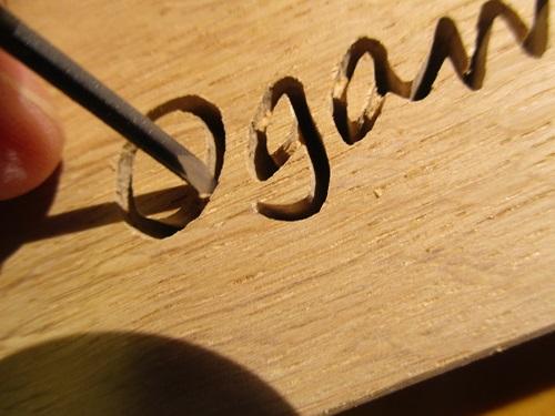方 彫り 彫刻 刀